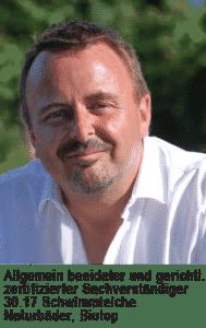 Helmut Zangl ist Sachverständiger für Teiche & Biotope