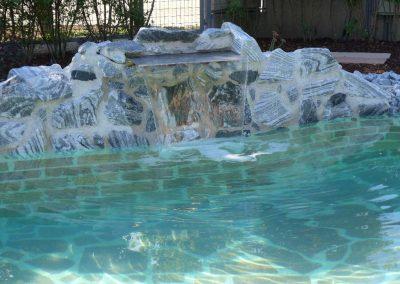 Wasserhütte im Pool