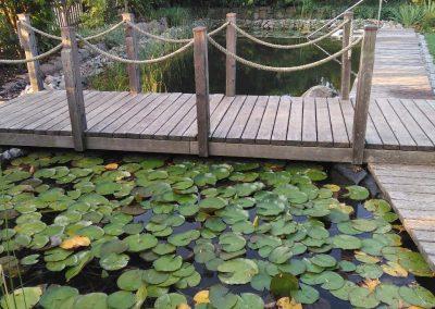 Eingang zum Schaugarten der Zangl Gartengestaltung